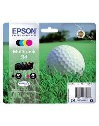 Inkcartridge epson 34 t3466 zwart + 3 kleuren