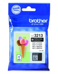 Inkcartridge brother lc-3213 zwart hc