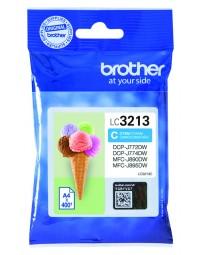 Inkcartridge brother lc-3213 blauw hc