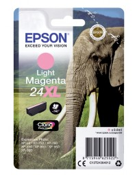 Inkcartridge epson 24xl t2436 lichtrood hc