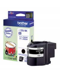 Inkcartridge brother lc-22u zwart