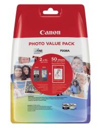 Inktcartridge canon pg-540xl + cl-541xl zwart + kleur