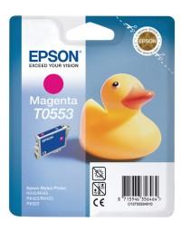 Inkcartridge epson t0553 rood