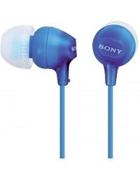 Oortelefoon sony ex15lp basic blauw