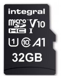 Geheugenkaart integral micro sdhc v10 32gb