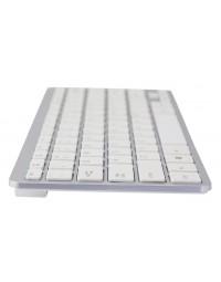 Ergonomisch toetsenbord r-go tools compact azerty zilver-wit