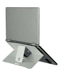 Ergonomische laptopstandaard r-go tools riser attachable aluminium