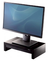 Monitorstandaard fellowes designer suites zwart