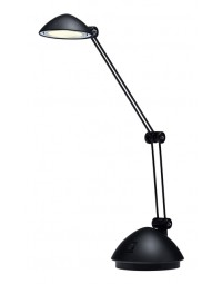 Bureaulamp hansa led space zwart