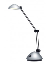 Bureaulamp hansa led space zilver