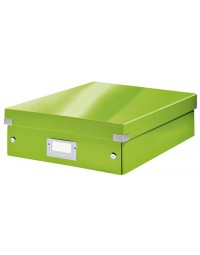 Sorteerbox leitz wow click & store 281x100x370mm groen