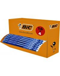 Gelschrijver bic gelocity 0,3mm blauw doos à 16 stuks + 4 gratis