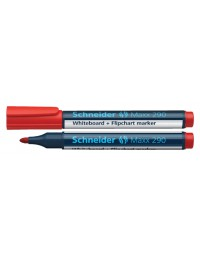 Viltstift schneider 290 whiteboard rond rood 2-3mm