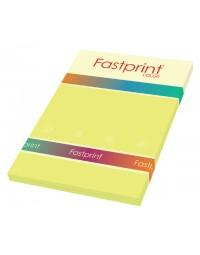 Kopieerpapier fastprint a4 120gr geel 100vel