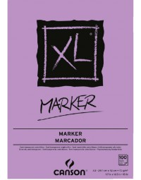 Tekenblok canson xl marker a3 70gram 100vel
