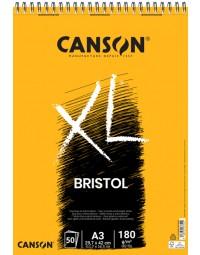 Tekenblok canson xl bristol a3 50v 180gr