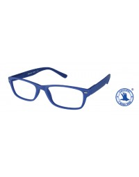 Leesbril +3.00 feeling blauw