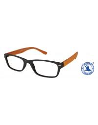Leesbril +2.50 feeling bruin-oranje