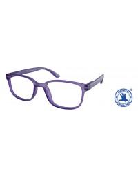 Leesbril +3.00 regenboog lila