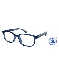 Leesbril +2.50 regenboog blauw