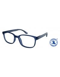 Leesbril +3.00 regenboog blauw