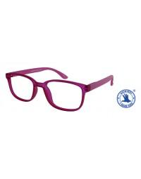 Leesbril x +1.00 regenboog roze