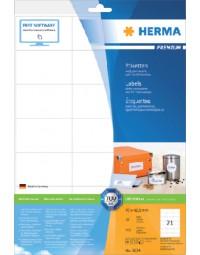 Etiket herma 8634 70x42.3mm premium wit 210stuks