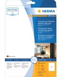 Etiket herma 8020 210x297mm 25st