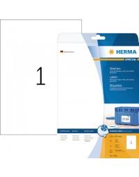 Etiket herma 4824 210x297mm a4 wit 25stuks