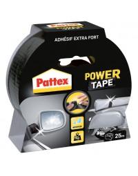 Plakband pattex power tape 50mmx25m zwart