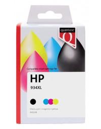 Inktcartridge quantore hp x4e14ae 934xl 935xl zwart 3 kleuren