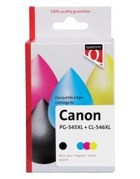 Inkcartridge quantore canon pg-545xl cl-546xl zwart kleur