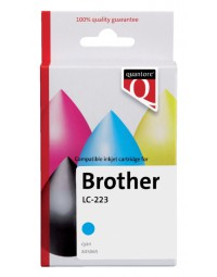 Inkcartridge quantore brother lc-223 blauw