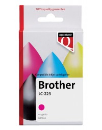 Inkcartridge quantore brother lc-223 rood