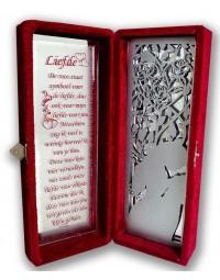 Roos in doos Special Edition Liefde (De roos staat symbool voor...)