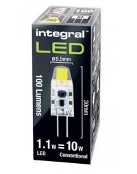 Ledlamp integral g4 12v 1.1w 2700k warm licht 100lumen