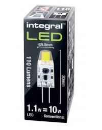 Ledlamp integral g4 12v 1.1w 4000k koel licht 110lumen