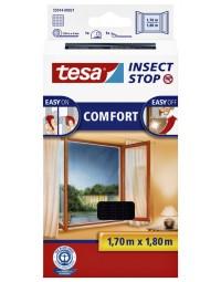 Insectenhor tesa 55914 voor raam 1,7x1,8m zwart