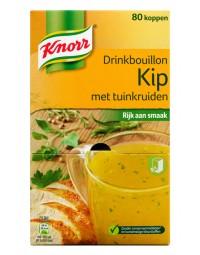 Knorr drinkbouillon kip met tuinkruiden 80 zakjes