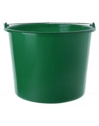 Emmer kunststof 12l groen