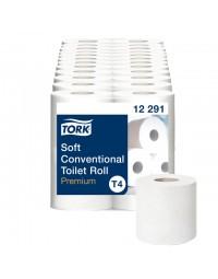 Toiletpapier tork t4 12291 premium 2laags 48rollen