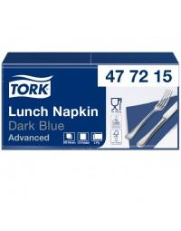 Servetten tork 477215 2laags 33x33cm blauw 200st.