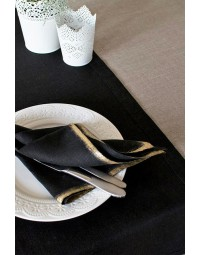Tafellaken tork 474585 linstyle 120cmx20m zwart