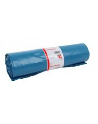 Afvalzak quantore ldpe t50 240l blauw 10 stuks