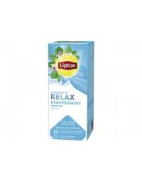Thee lipton relax pepermunt 25stuks