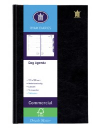 Agenda 2021 ryam commercial 1dag/1pagina zwart