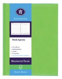 Agenda 2021 ryam weekplan 7dag/2pagina's assorti