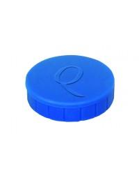 Magneet quantore 32mm 800gram blauw 10stuks