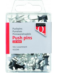 Push pins quantore blister assorti