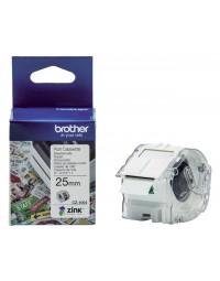 Labeltape brother cz-1004 25mmx5m kleur opdruk